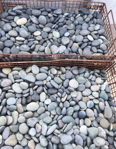 Black Beach Pebbles