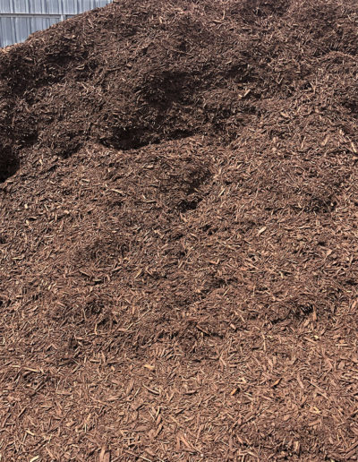 Brown Cedar Mulch