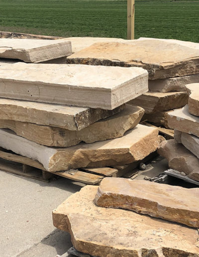 Natural Stone Step -Buff