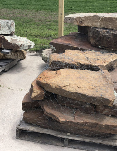 Natural Stone Step -Moss