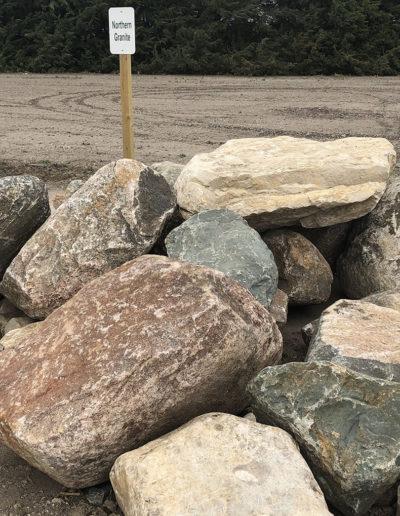 Northern Granite Boulders
