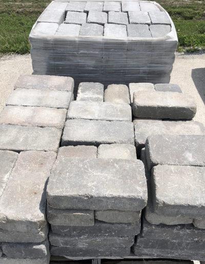 Tumbled Belgian Wall -Gray